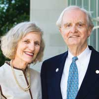 Siena College donor BETH AND JOHN ALLEN '60