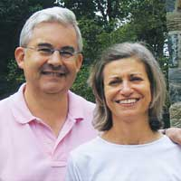 Photo of Siena College donors Jeff '71 and Claudia Little